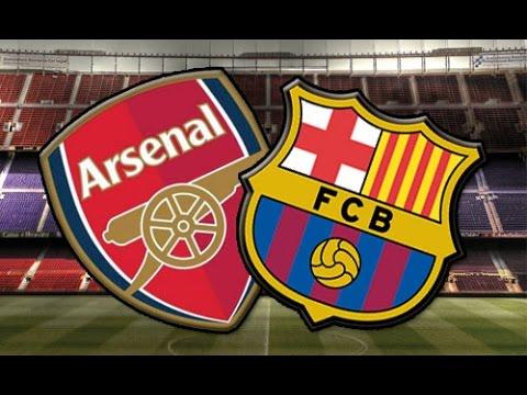 Finalizado: Arsenal FC 0-2 FC Barcelona