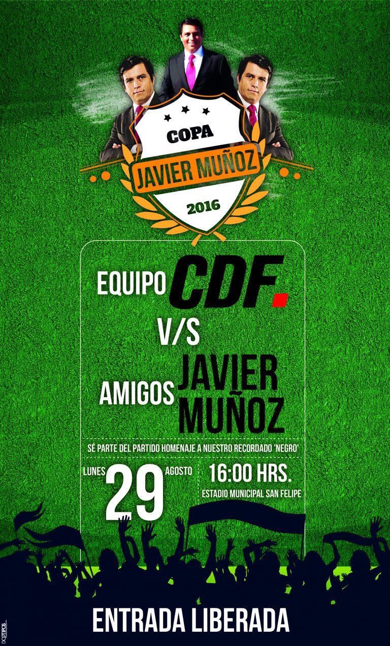 Con partido de fútbol conmemoran a Javier Muñoz Delgado