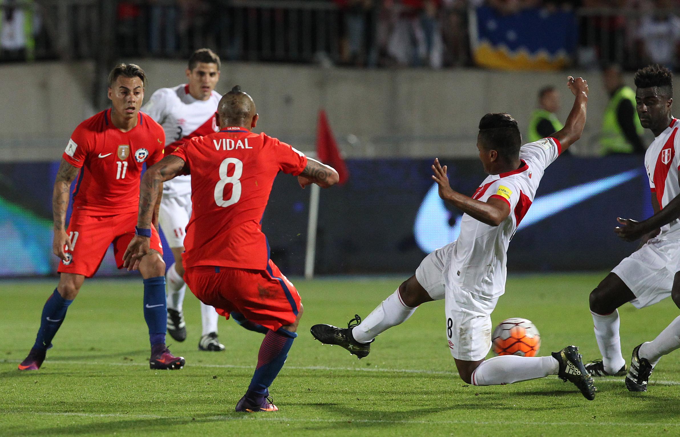 Galería de fotos: Chile vs. Perú