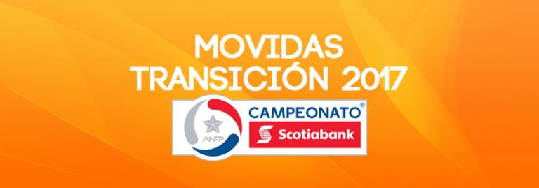 MOVIDAS TRANSICIÓN 2017 – PRIMERA DIVISIÓN