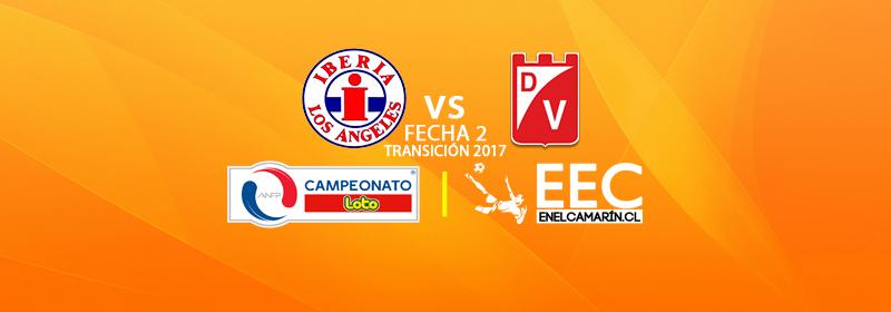 Finalizado: Iberia 3-1 D.Valdivia