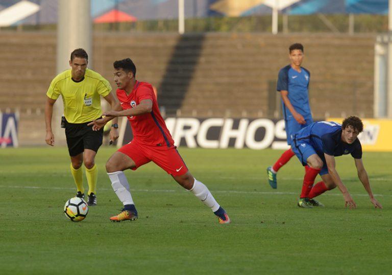 Chile Sub-21 logra un meritorio empate ante Francia