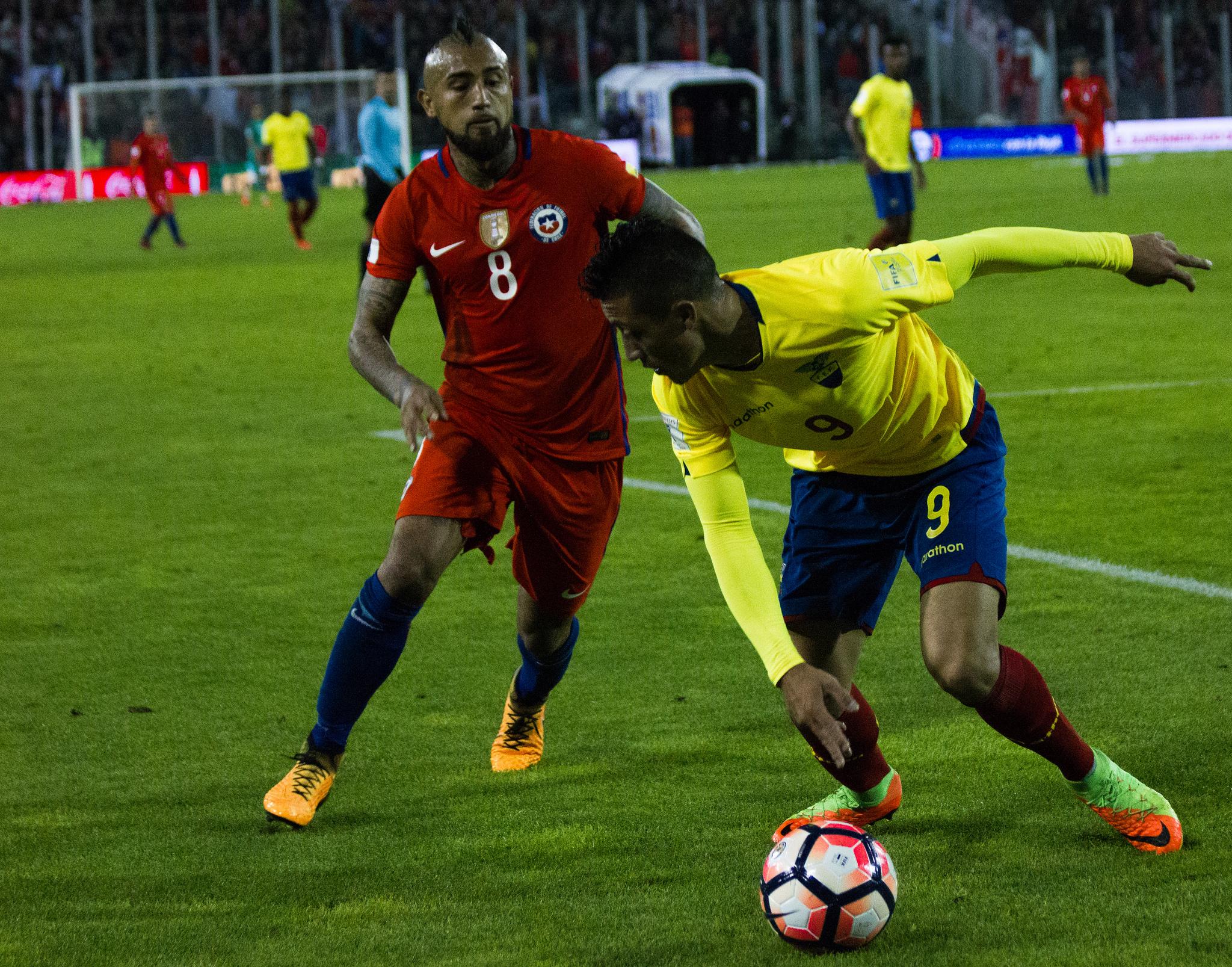 Galería de fotos: Chile vs Ecuador