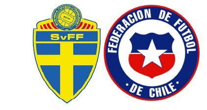 Finalizado: Suecia 1-2 Chile