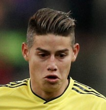 10. James Rodríguez