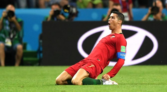 Un inspirado Cristiano Ronaldo le dio vida a Portugal