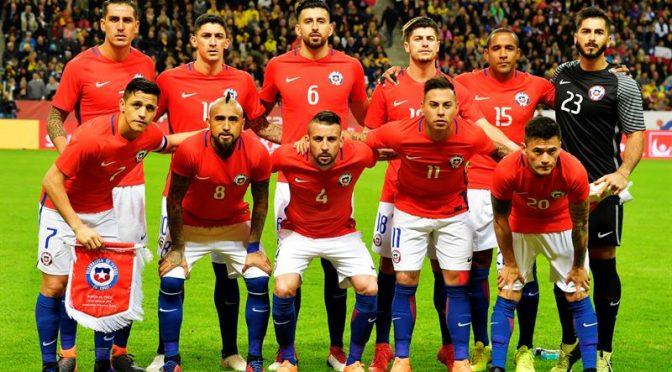 Chile queda fuera del Top 10 en el Ranking FIFA