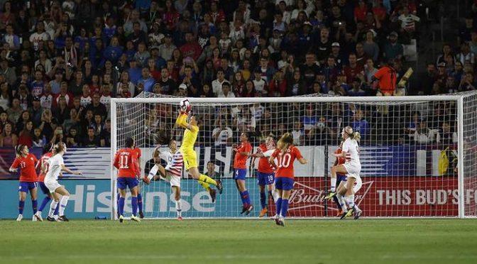 Finalizado: Estados Unidos 4-0 Chile