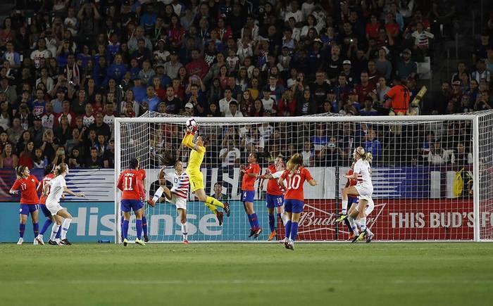 Finalizado: Estados Unidos 3-0 Chile