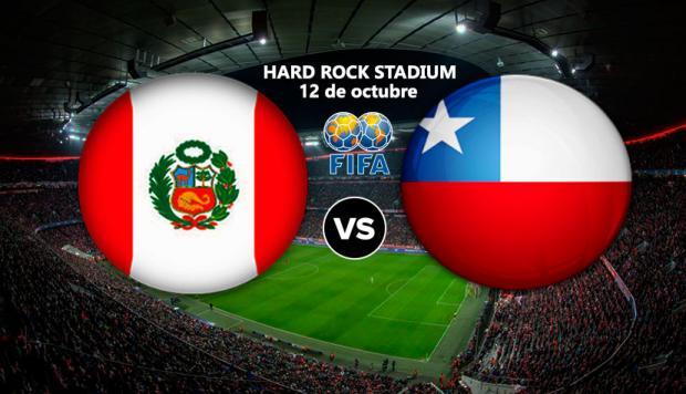 Finalizado: Perú 3-0 Chile