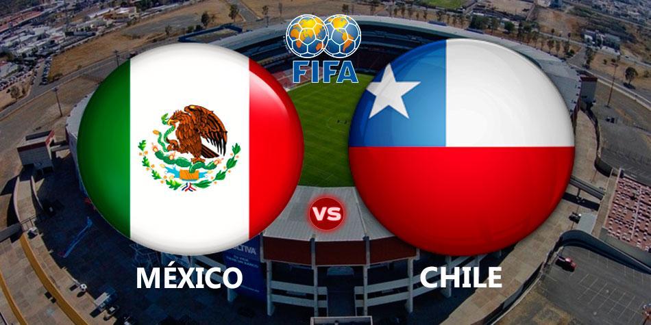 Finalizado: México 0-1 Chile