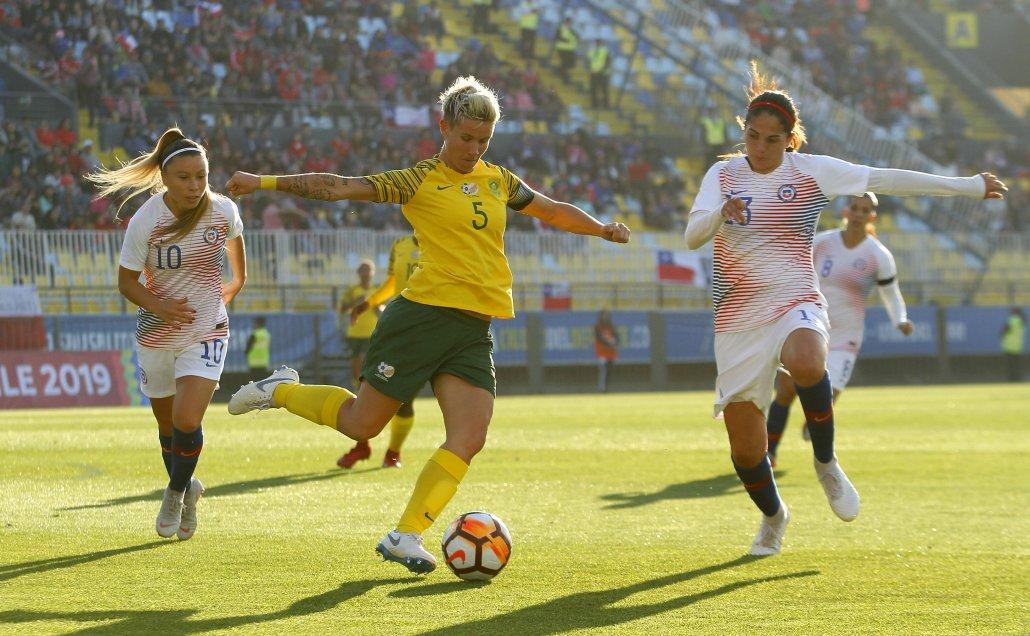 Finalizado: Chile 2-2 Sudáfrica
