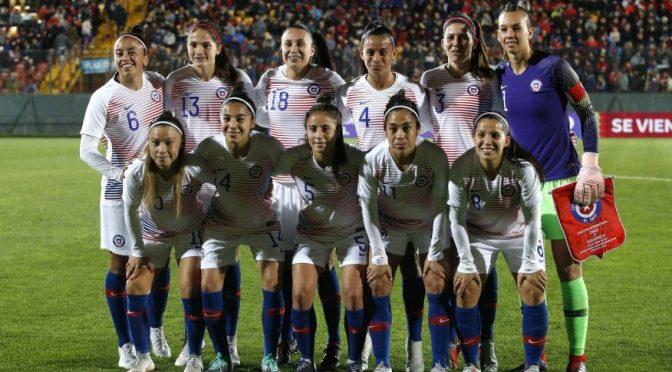 Finalizado: Australia 5-0 Chile