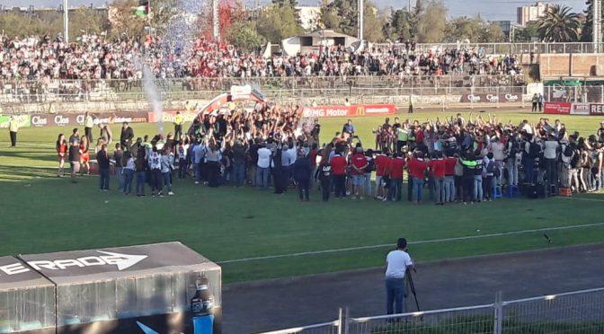 Palestino se consagra campeón de la Copa Chile 2018
