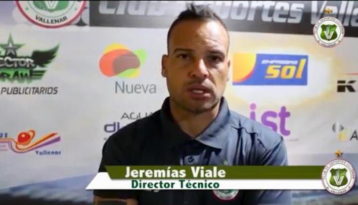Jeremías Viale: «Quiero ascender para dar una alegría a la gente de Vallenar»