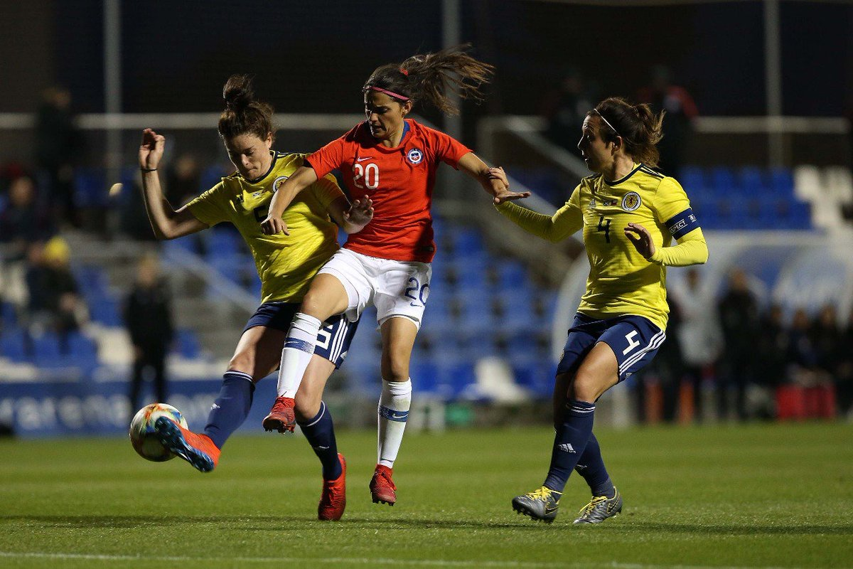 Finalizado: Escocia 1-1 Chile