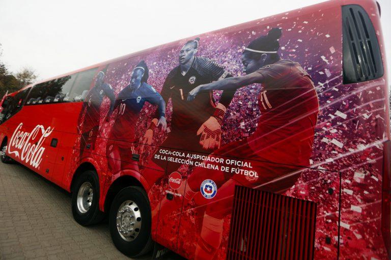 Nuevo bus acompañará a la Roja femenina