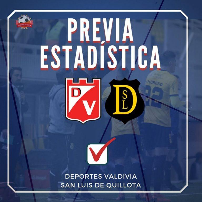 La previa estadística: Deportes Valdivia vs San Luis de Quillota