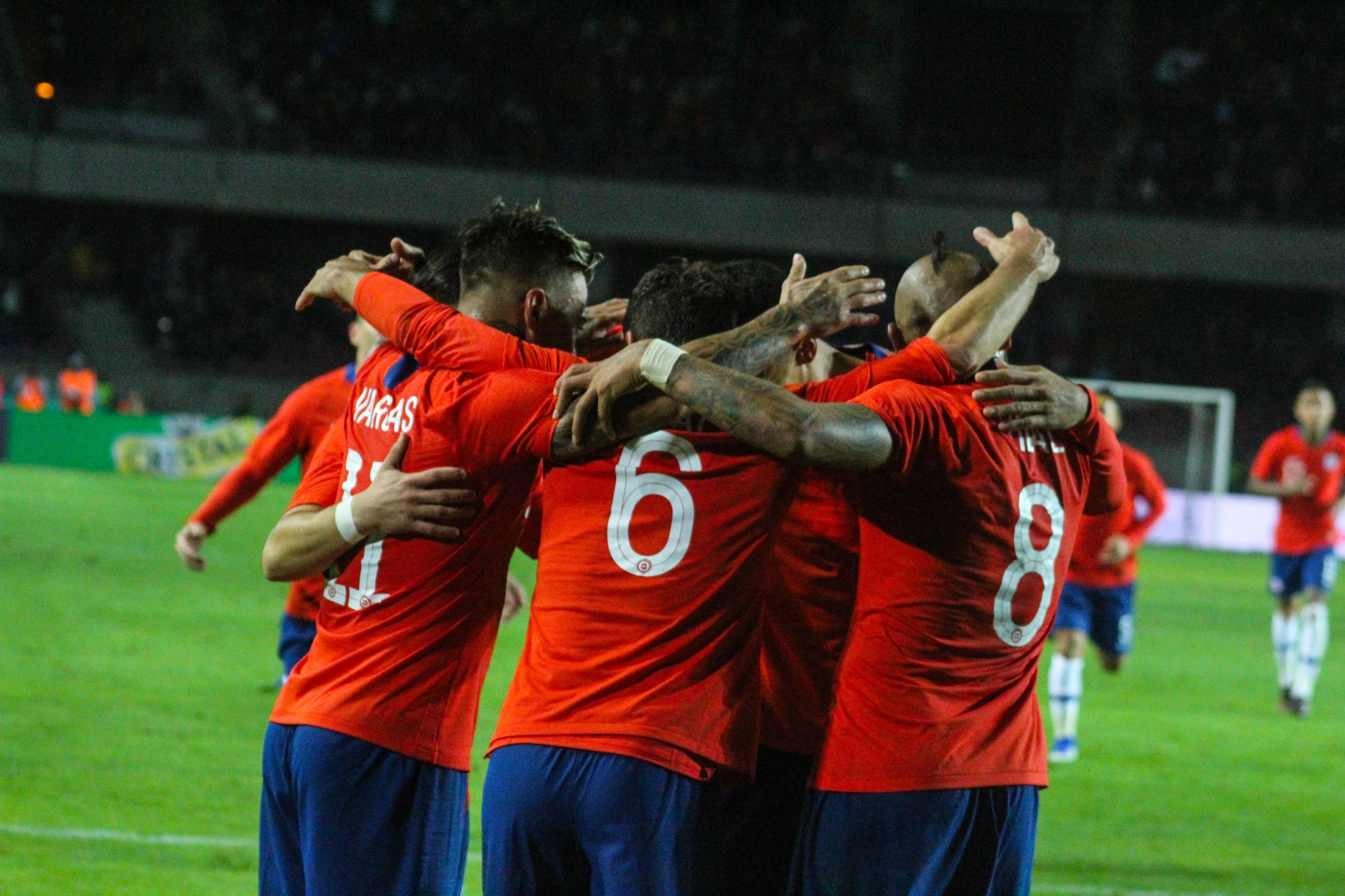 Galería de fotos: Chile vs Haití