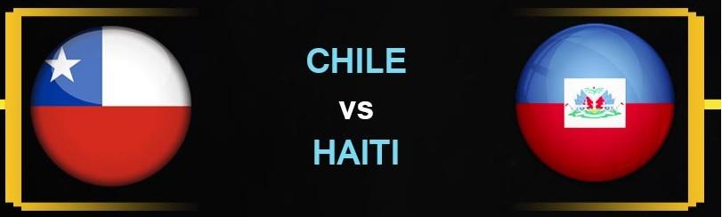 Finalizado: Chile 2-1 Haiti