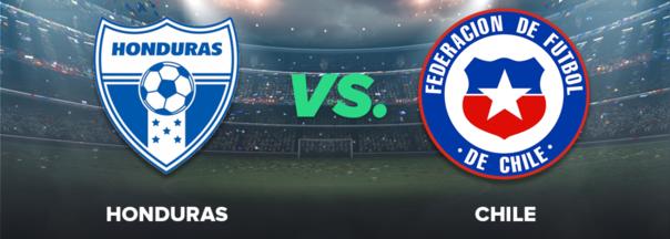 Finalizado: Honduras 2-1 Chile