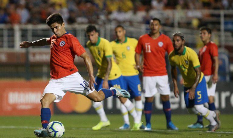 Finalizado: Brasil U23 3-1 Chile U23