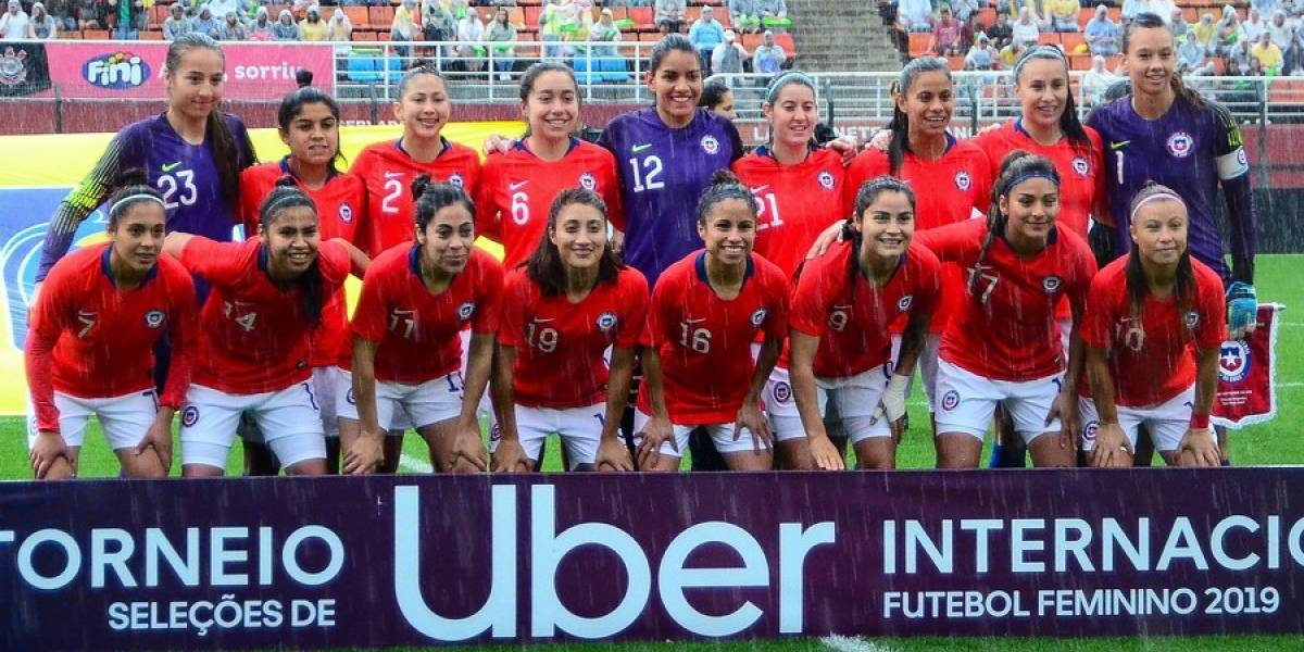 Finalizado: Chile 3-0 Uruguay Femenino
