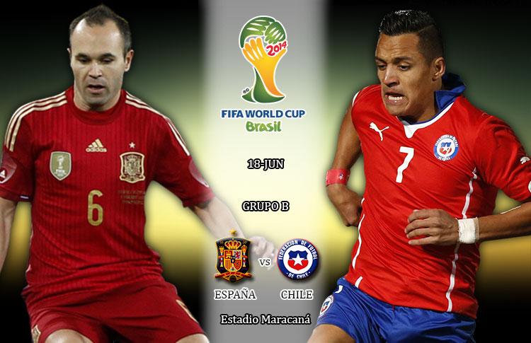 Partidos con Historia: España 0-2 Chile (2014)