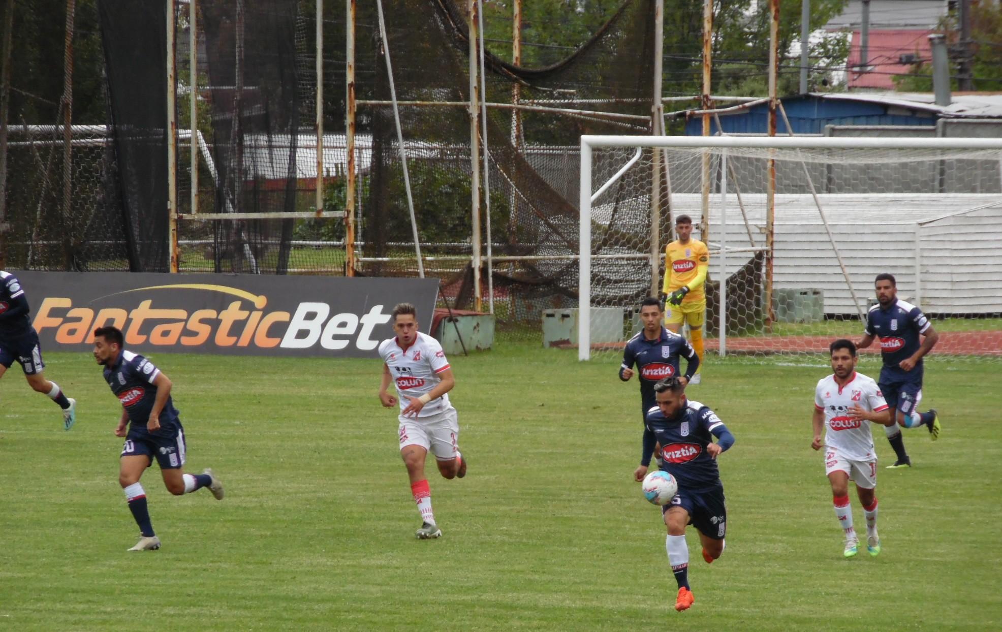 Valdivia vs Melipilla en fotos